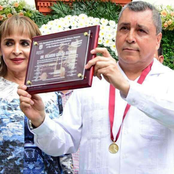 Reconocimiento a Ricardo García Guzmán