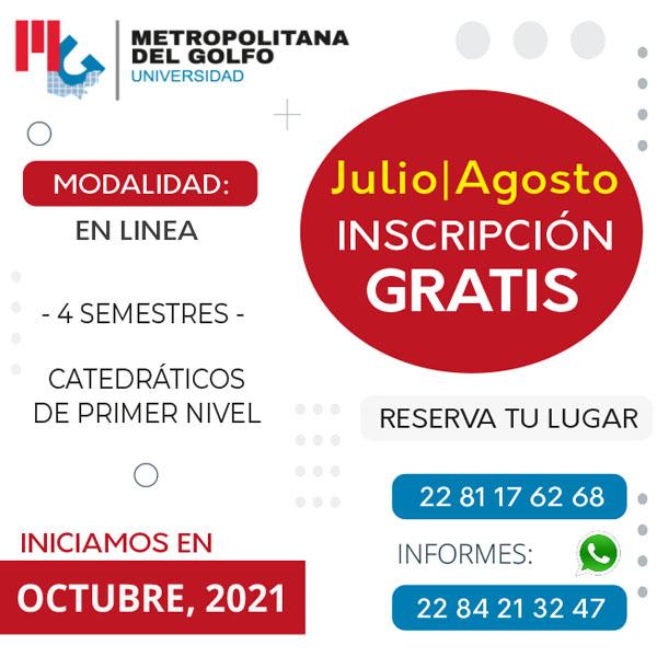 Invitación a maestrías Octubre 2021
