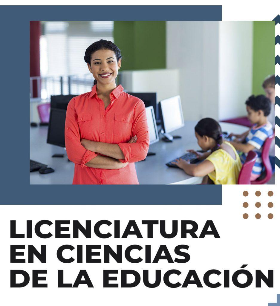 Licenciatura en ciencias de la educación