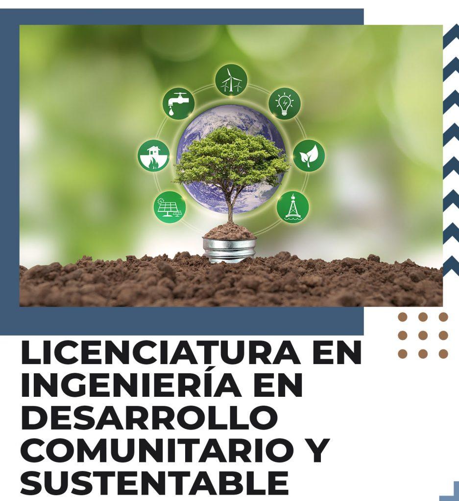 Licenciatura en desarrollo comunitario y sustentable